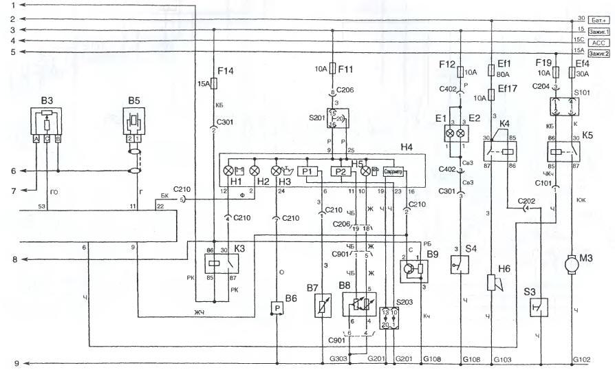 турбогенератор твф-110-2е электрическая схема